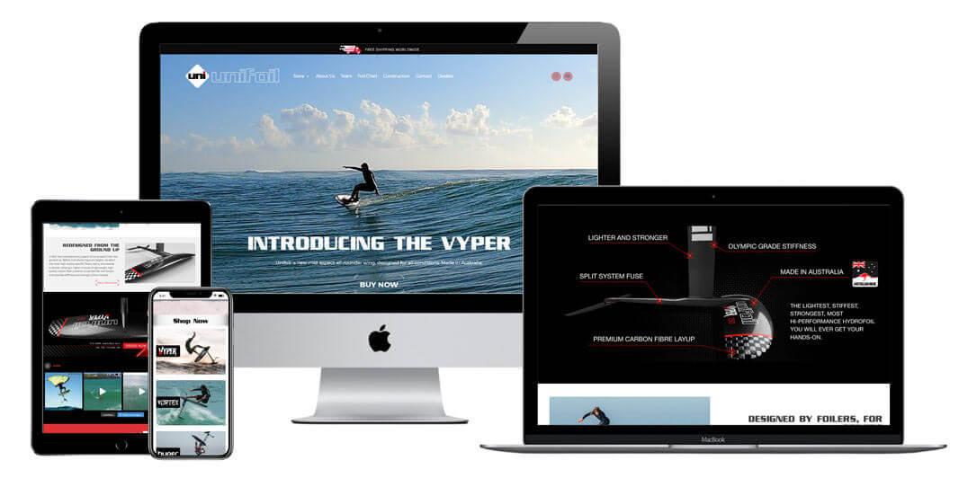 Unfoil Website Design